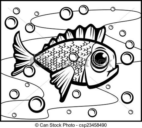 swimming illustrations and clipart can stock photo eps vectors of fish underwater a single cartoon fish