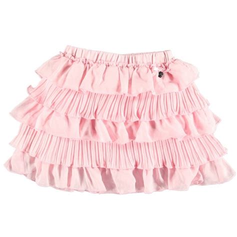 Baby Avail Pink Skirt le chic baby pink ruffle skirt