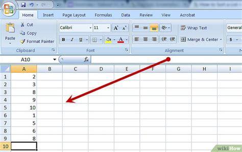 excel tabelle sortieren eine tabelle in excel sortieren wikihow