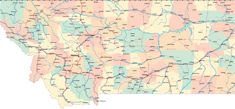 usa montana map montana mt travel around usa