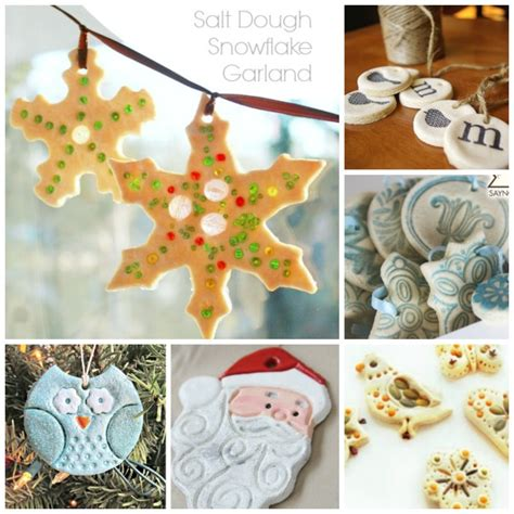 salt dough crafts ornaments ted s