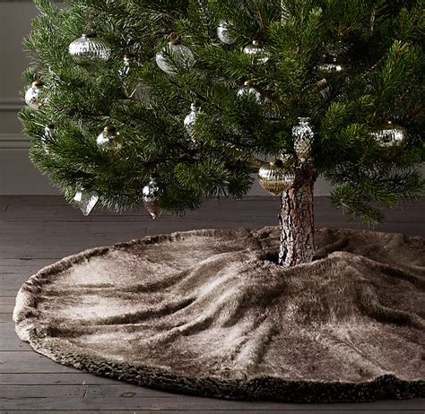 luxe faux fur tree skirt big lots sells a throw similar