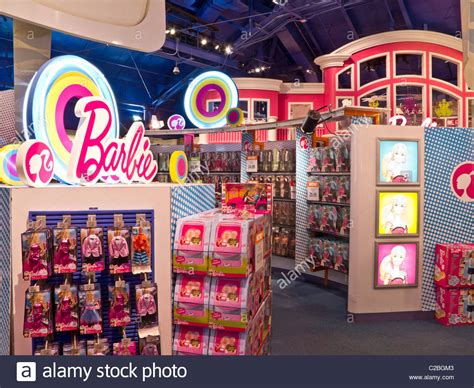 barbie house toys r us interior barbie s dream house display toys r us times square nyc stock photo