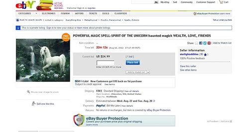 ebay news ebay to ban sale of spells hexes potions and curses
