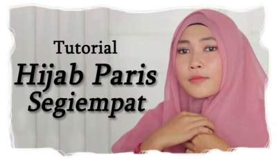 Tutorial Hijab Paris Lipat | tutorial hijab paris gaya segi empat lipat