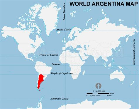 where is argentina on the world map where is argentina on the world map