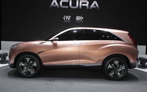 first acura new acura compact crossover first to get precision