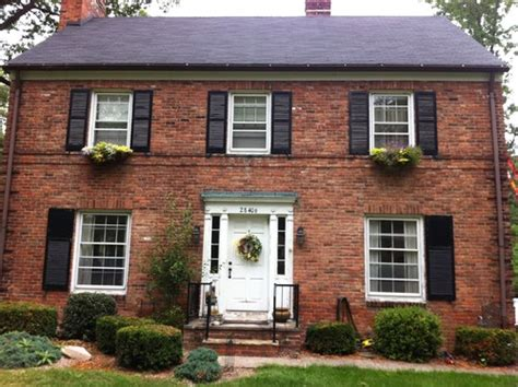 brick house door colors front door color on brick home