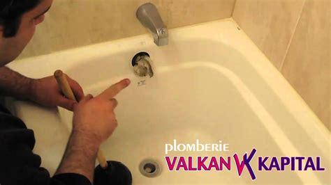 plomberie baignoire comment d 233 boucher une baignoire plomberie montreal