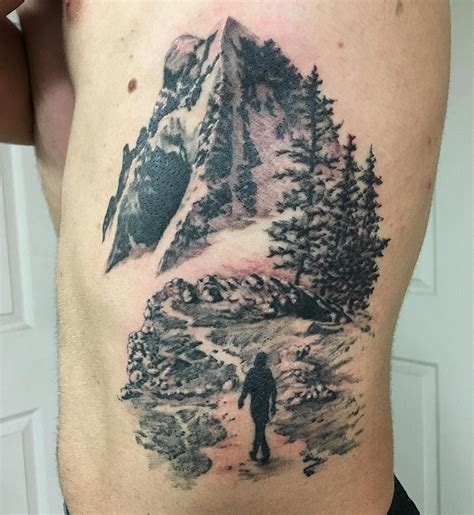 mountain tattoo designs realistic mountain venice designs