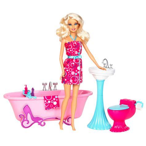 Poupée Barbie et Mobilier Salle de Bain Mattel : King