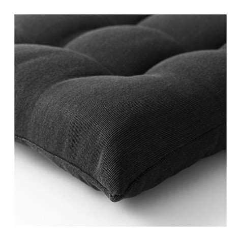 ikea black chair cushion h 197 ll 214 chair cushion outdoor black 40x40 cm ikea