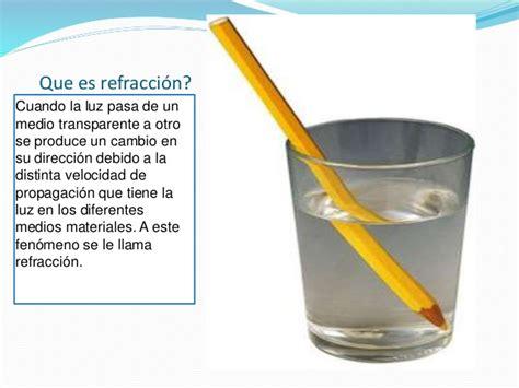imagenes de la reflexion y refraccion refraccion de la luz