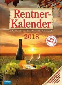 Kalender 2018 Keren Rentner Witze Denn Alles Was Spa 223 Macht H 228 Lt Jung