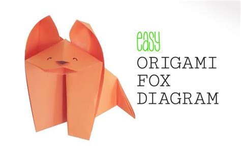 Origami Fox Diagram - 17 best images about origami animal tutorials on