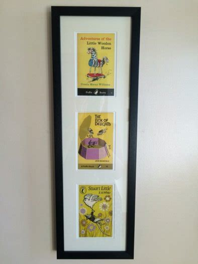 stuart little a puffin new framed prints of vintage puffin books stuart little the box of delights the little wooden