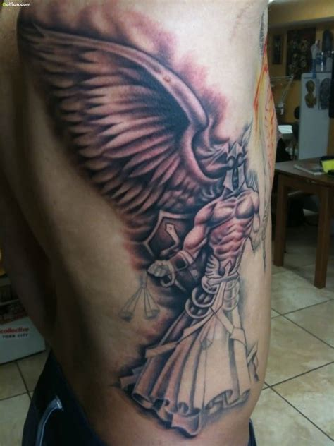 60 most beautiful angel tattoos images popular angel