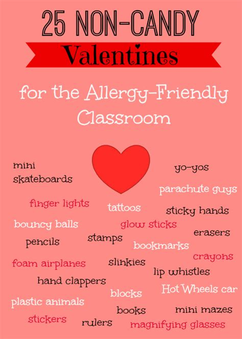 Cute Kitchen Ideas by 25 Non Candy Class Valentine S Ideas Allergy Friendly