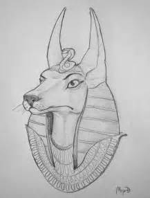 how to draw of anubis