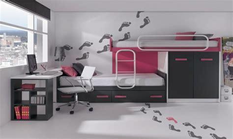 d 233 coration chambre avec lit superpose