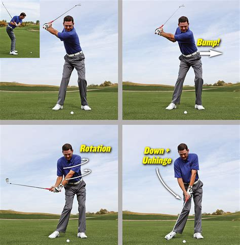 golf half swing 6 piece golf swing golf tips magazine