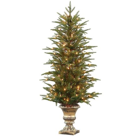 home accents holiday 6 5 ft pre lit jackson spruce
