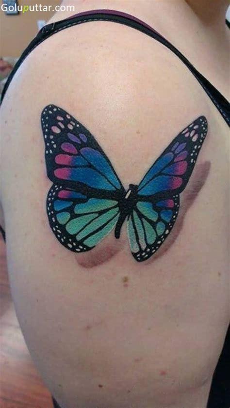 3 butterfly tattoo 3d butterfly tattoos
