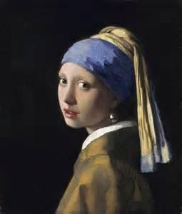 vermeer pearl earrings with a pearl earring by johannes vermeer