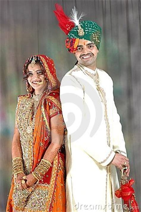 Wedding Attire Based On Time Of Day by Indian In Wedding Attire Royalty Free Stock Images