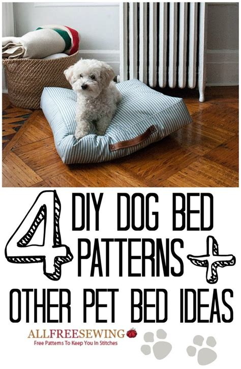 dog bed patterns 4 diy dog bed patterns 6 other diy pet bed ideas