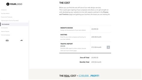Free Wordpress Website Design Proposal Template Better Proposals Website Redesign Rfp Template