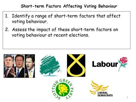 what determines the way vote in the uk ppt
