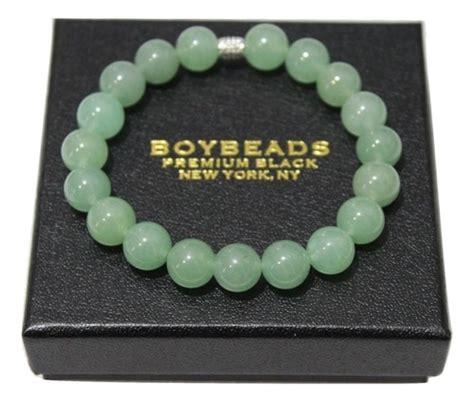 mens jade bead bracelets boybeads quot jenkins quot 10mm pastel green jade bead mens