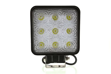 How Led Light Bulbs Work Led Work Light 5 Quot Square 27w 2 025 Lumens Led Work Lights Led Auxiliary Work Lights