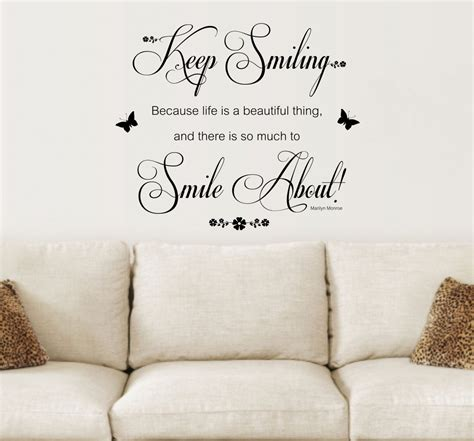 inspirational wall art stickers