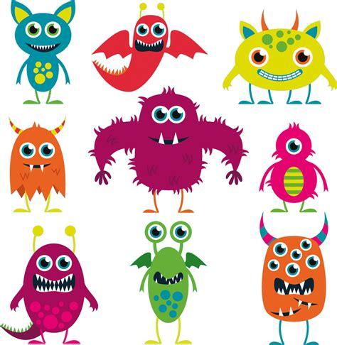 imagenes infantiles monstruos vinilos folies kit vinilo decorativo infantil 9 monstruos