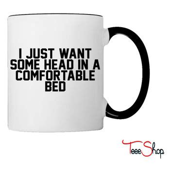 i just want head in a comfortable bed blair and serena bff mugs black and from thetrendysparrow on