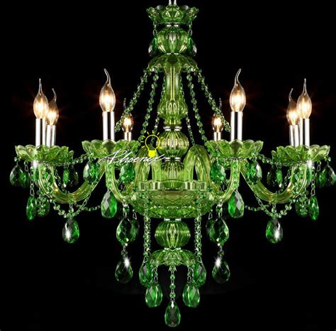 green chandelier crystals modern jade green chandelier contemporary
