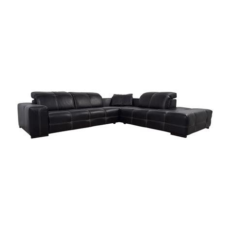 black leather l sofa leather l shaped sectional sofa free shipping modern sofa