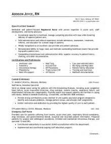 Free Nursing Resume by 10 Sle Nursing Resumes Experience Resumes