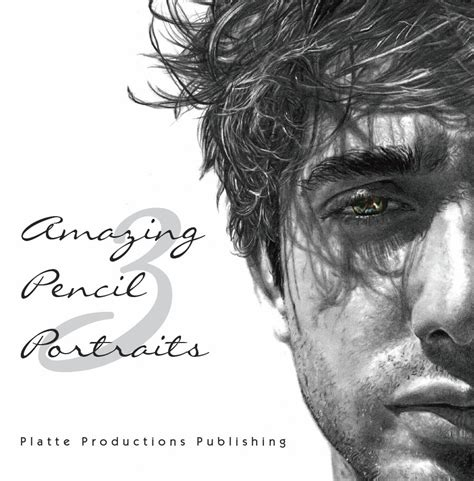 amazing pencil portraits my drawing published in amazing pencil portraits 3 by