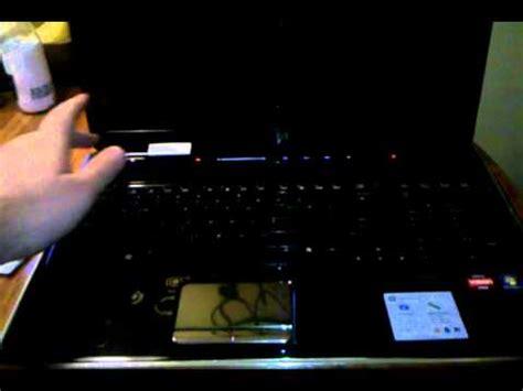 hp laptop wont start boot up lights