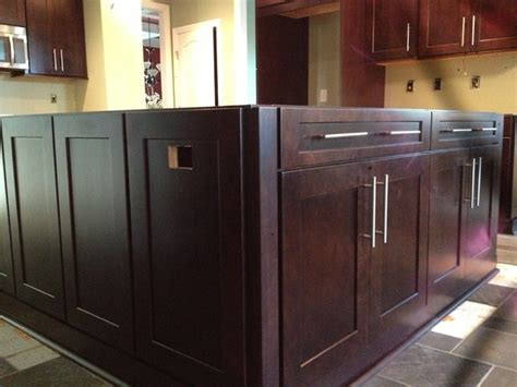 Cherry Java Cabinets by Mission Cherry In Java Finish By Shenandoah Cabinetry