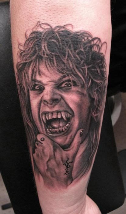 ozzy osbourne tattoos 100 best band s tattoos images on