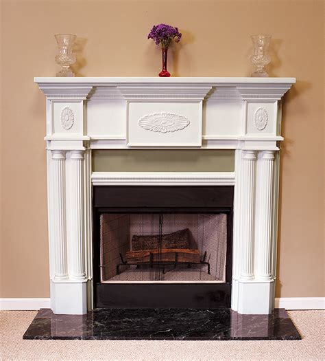 Plaster Fireplace Mantels by A Plus Inc Peachtree 36