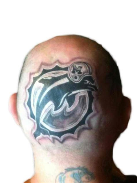 miami dolphins tattoo 25 best sports images on sport tattoos