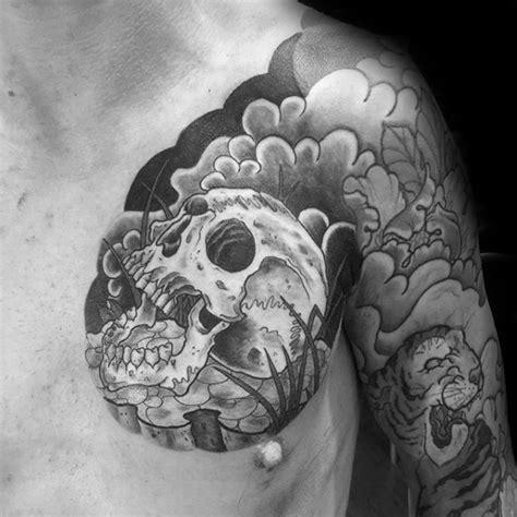 japanese skull tattoo designs 40 japanese skull designs for cool cranium