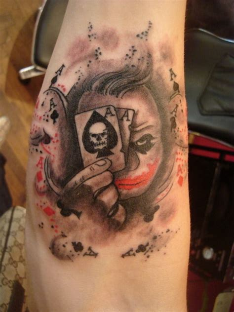 tattoo evil joker evil skull tattoo katy perry buzz