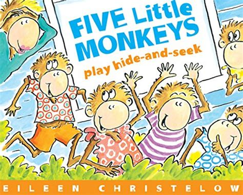libro hide and seek a libro five little monkeys play hide and seek di eileen christelow