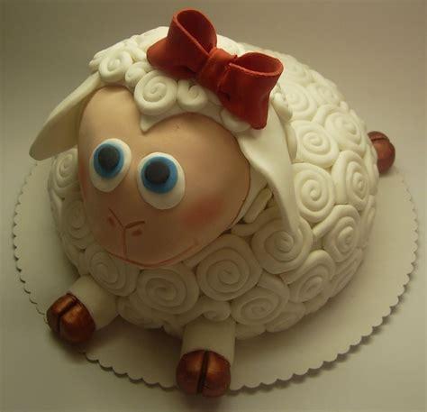 lamb  animal cakes contest fondant cake ideas